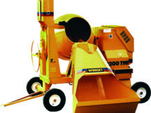 Winget UK - TR Powered Mechanically Fed Concrete Mixer