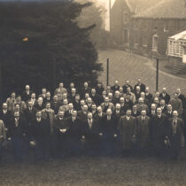Lister Agents visiting Works 1923